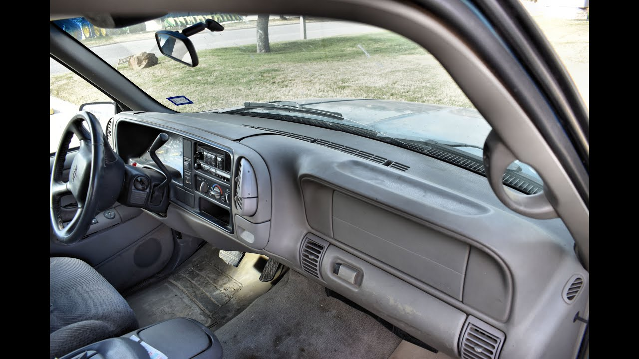 Coverlay® 1997-2000 Chevy/GMC dash cover installation ...