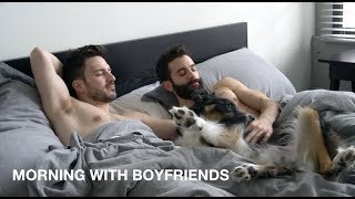 Gay Couple's Morning Routine | WAKE UP WITH US | Justin and Nick
