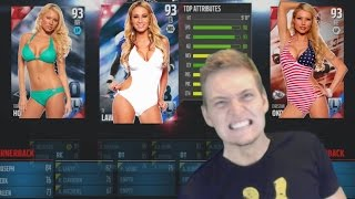 HOTTEST PLAYER WIVES! | MADDEN 16 DRAFT CHAMPIONS!