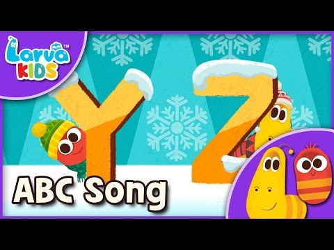 [Nursery Rhyme] ABC Song - English - Larva KIDS Alphabet song