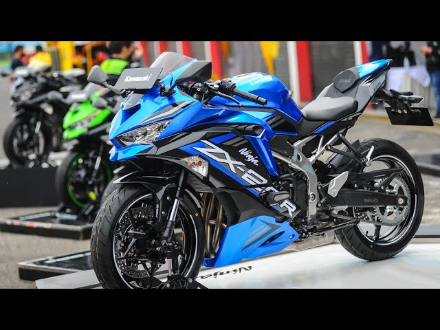 2021 Kawasaki Ninja ZX-25R ABS SE & Race Edition - YouTube