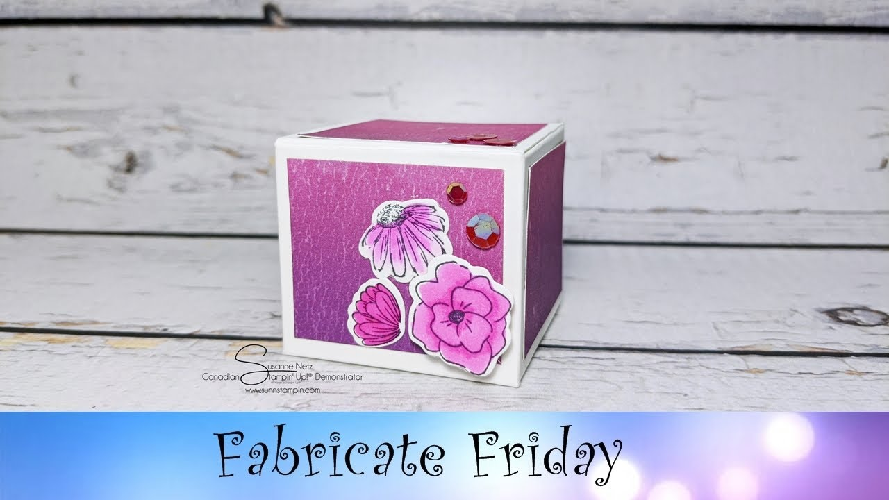 Artistry Blooms Box featuring Stampin' Up!® Products