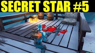 Find the secret Battle star in Loading Screen #5 Fortnite Hidden battlestar location week 5 season 7