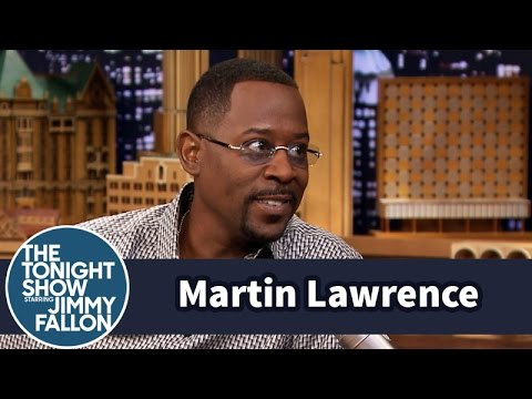 Martin Lawrence Brings Jerome in the Tonight Show House