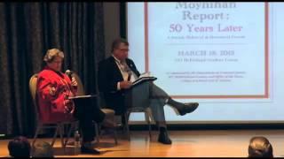 Kutztown University, The Commission on the Status of Minorities, The Moynihan Report, Panel 3