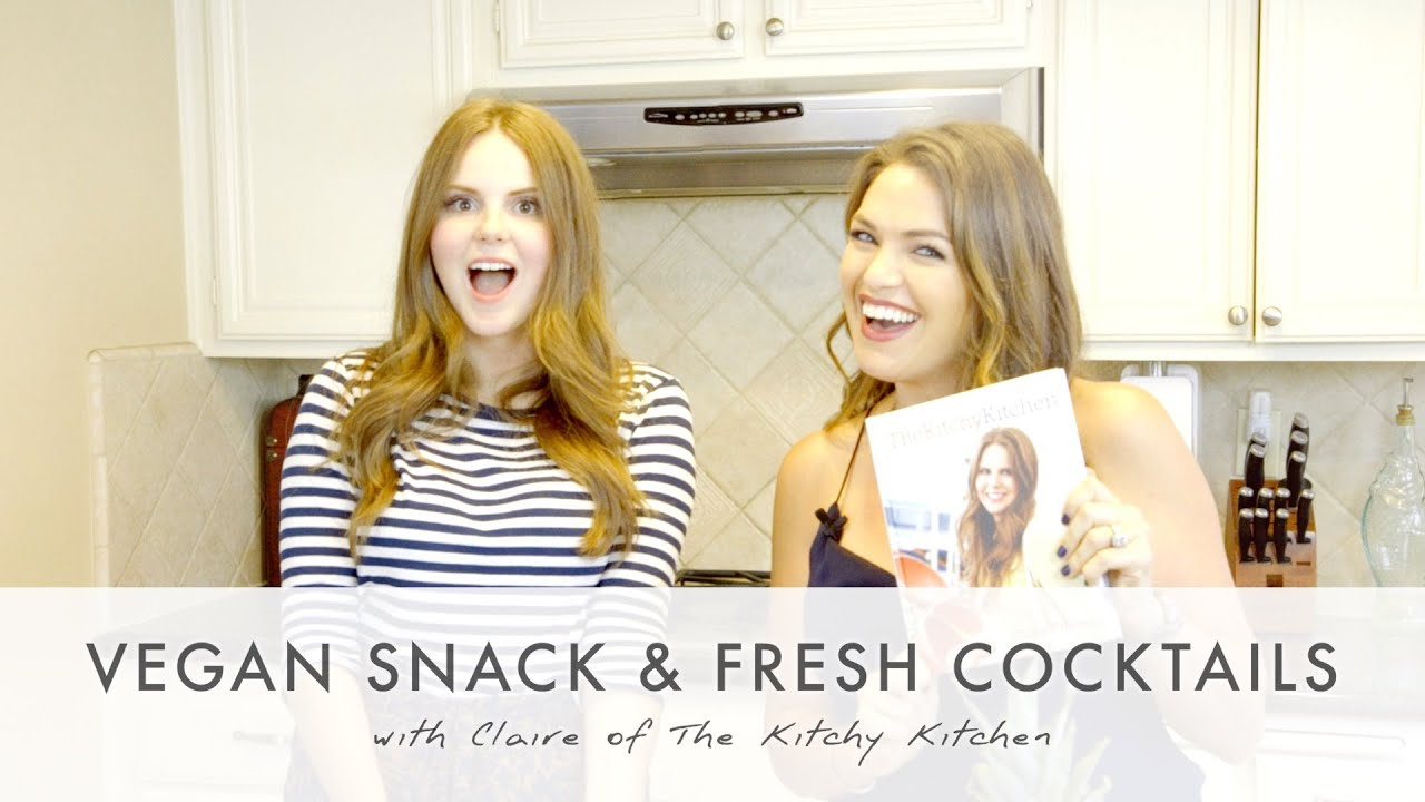 vegan snack & fresh cocktails (my dancing kitchen with claire of