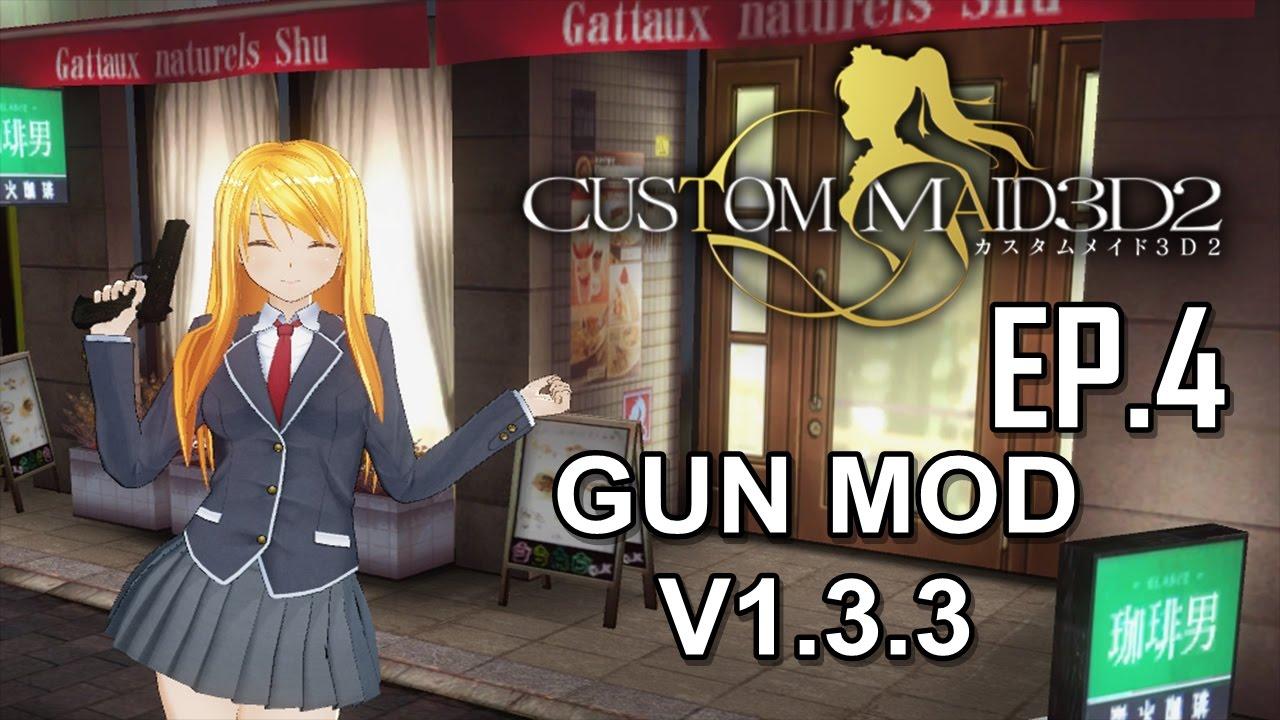 Installing New Mod Aqours Love Live for Custom Maid 3D 2