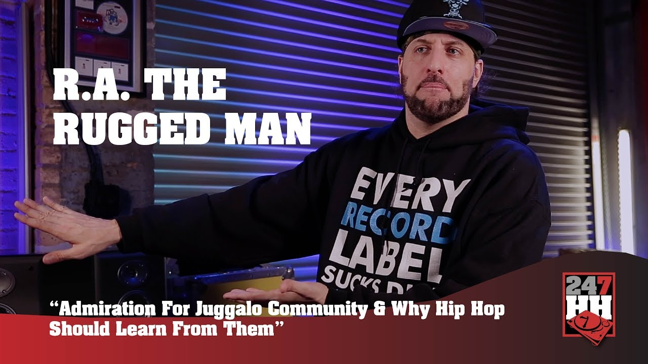 R A The Rugged Man Admiration For Juggalo Community What Hip Hop Should Learn 247hh Exclusive