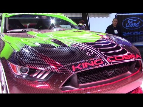 2015 king cobra mustang ford racing interview with doug white sema 2014 - Ford Mustang King Cobra 2015