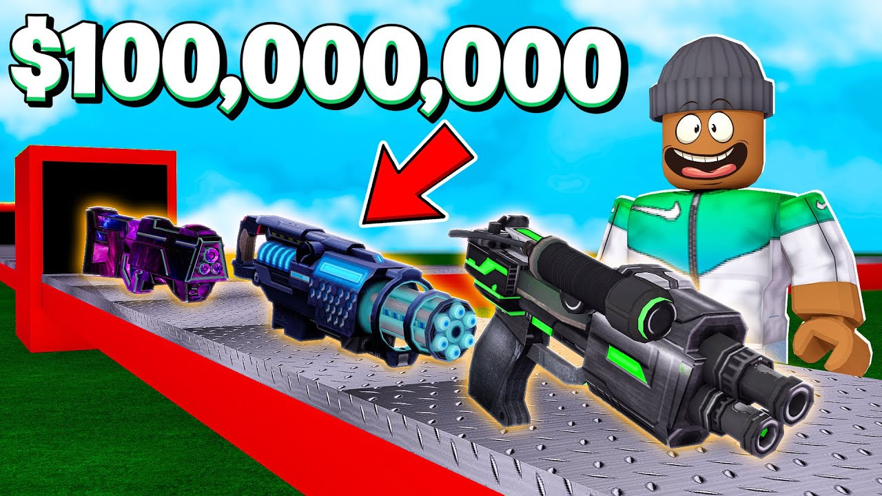 Building My Own $100,000,000 WEAPON FACTORY.. (Roblox) thumbnail