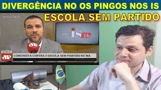 Escola sem Partido: Felipe Moura e Augusto Nunes X José Maria Trindade. Reaction