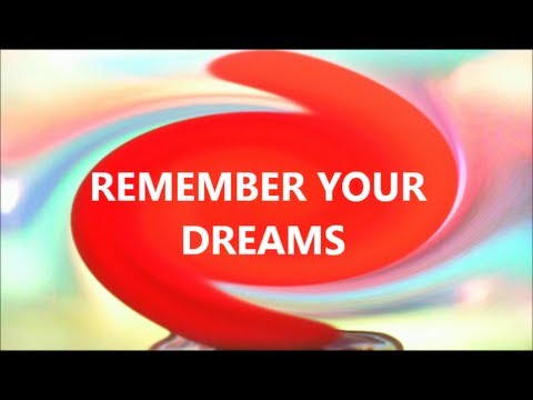 Deep Sleep Hypnosis for Good Dreams you can Remember (dream recall)