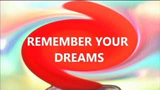 vuclip Deep Sleep Hypnosis for Good Dreams you can Remember (dream recall)