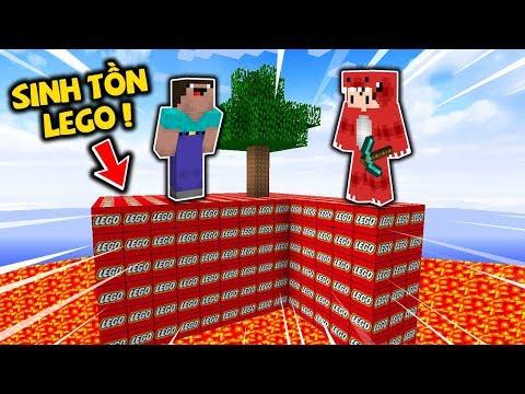 Rex Và Noob Thử Thách Sinh Tồn Trên Đảo Lego Trong Minecraft Sẽ Như Thế Nào ? ( Oops Rex Minecraft )