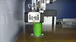 Multimaterialdruck flexible Manschette mit Gleitlagerwerkstoff und Flansch