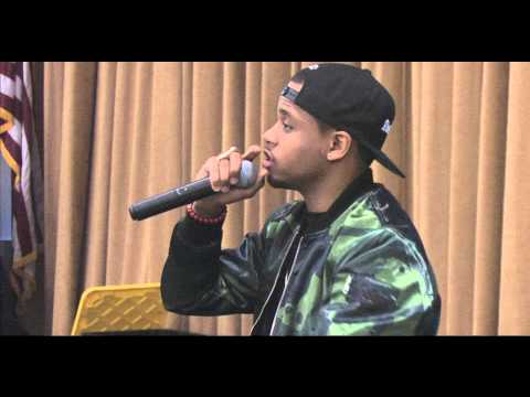 MACK WILDS FULL INTERVIEW AND PERFORMANCE AT WILLIAM PATERSON UNIVERSITY