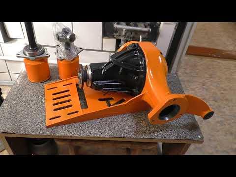 Подготовлен передний редуктор с винтовой блокировкой преднатяг 8 кг и триподы для установки на Ниву