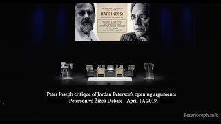 Peter Joseph - Critique of Jordan B. Peterson (vs Slavoj Zizek: