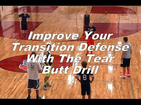 Improve Your Transition Defense With The Tear Butt Drill