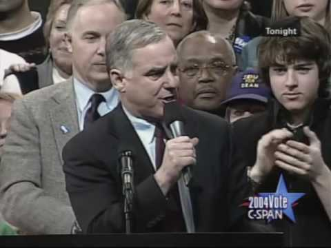 Howard Dean Campaign Speech 2004