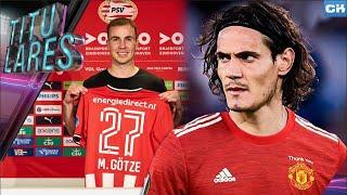 ¡CAVANI debutaría ante el PSG! | PSV rescata a GÖTZE | SALAH defiende a un indigente