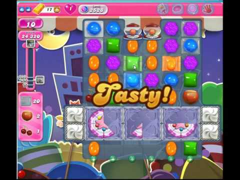 Candy Crush Saga Level 2528 no boosters