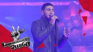 Mnats Khanagyan sings Драмы больше нет - Knockout  The Voice of Armenia  Season 4