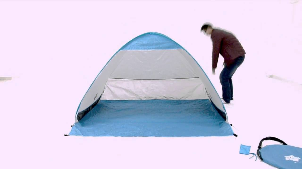 How To Fold And Open Pop Up Instant Portable Outdoors Quick Cabana