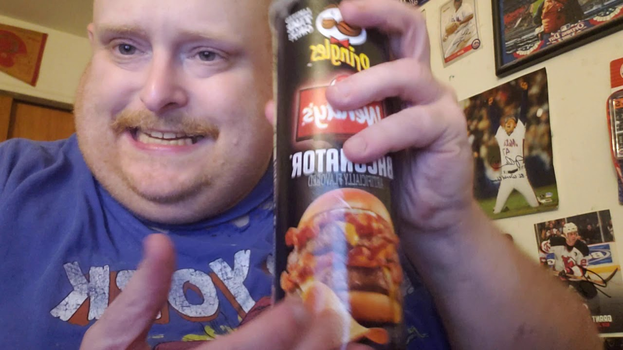 Tank's Taste Test Baconator Pringles