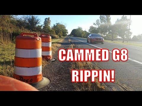 Cammed G8 Exhaust Sounds