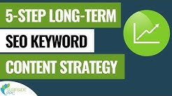 5-Step Long-Term SEO Keyword Targeting Content Strategy