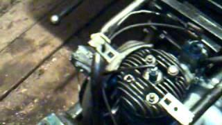 Робота двигуна моторолера ''мураха''