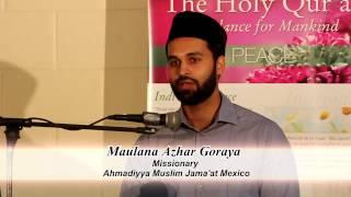 Maulana Azhar Goraya Sahib at Jalsa Salana Belize 2017