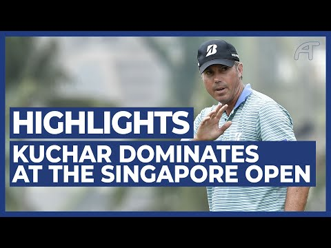 Matt Kuchar Dominates The SMBC Singapore Open | Round 3 Highlights 2020