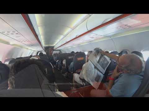 easyJet 2783 Milano (MXP) Paris (CDG) A320 HD