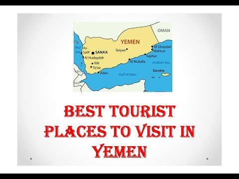 15 PLACES TO VISIT IN YEMEN