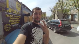 Мой первый опыт гироборда. Харьков.30 апреля 2016 г.