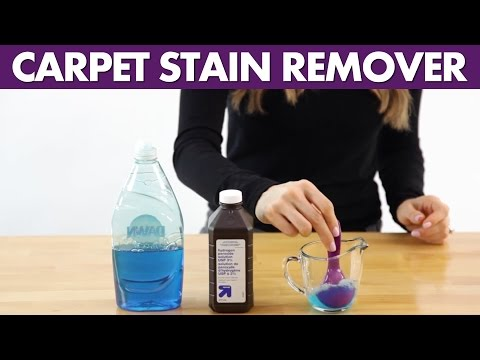 Carpet Stain Remover - Day 25 - 31 Days of DIY Cleaners (Clean My Space)