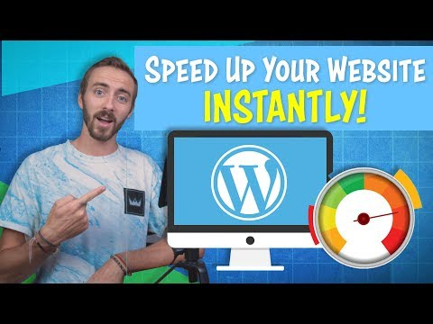 How to INSTANTLY Speed Up Your WordPress Website | 2019 thumbnail
