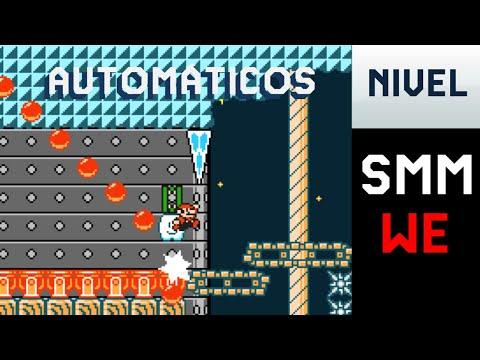 Niveles automaticos By DaniCraft2479 - Super Mario Maker World Engine - Matimat 36