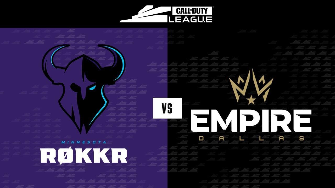Winners Round 2   @Minnesota RØKKR vs @Dallas Empire   Stage V Major Tournament   Day 2