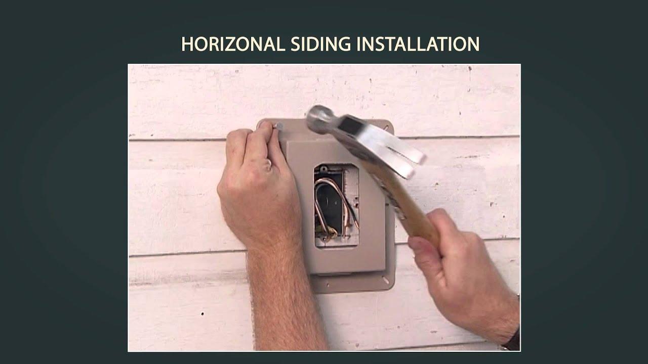 Vinyl Siding Installation Horizontal Part 2 Of Breaker Panel More Electrical 110 Install Doorbell Wiring 9