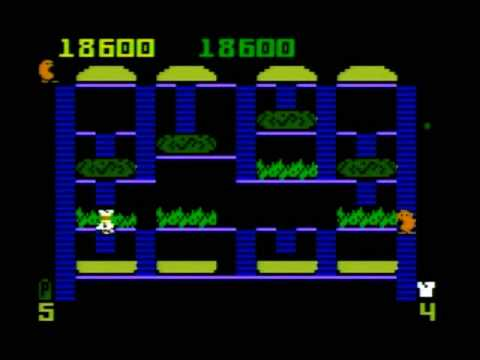 BurgerTime (Intellivision) Gameplay