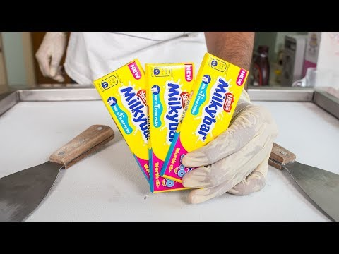 Nestle MILKY BAR ICE CREAM ROLLS - SATISFYING ASMR VIDEO