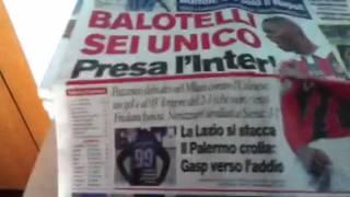 Unboxing Corriere dello Sport Stadio + omaggio calciatori p