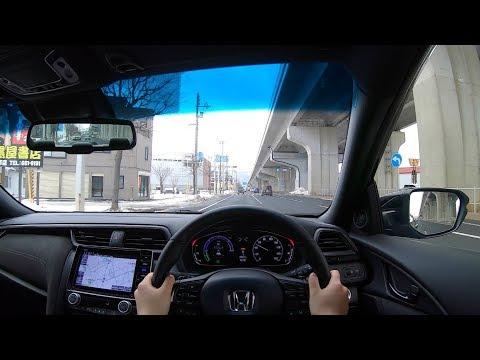 【Test Drive】2018-2019 New HONDA INSIGHT HYBRID EX Black Style 1.5L FF - POV City Drive