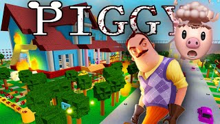HELLO NEIGHBOR'S HOUSE IN ROBLOX PIGGY BUILD MODE..