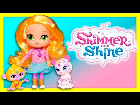 Shimmer and Shine grant Wishes to Pets and Paw Patrol