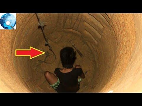 Kỳ bí cô gái 100 ngày âm thầm đào giếng bằng chiếc muỗng ăn cơm