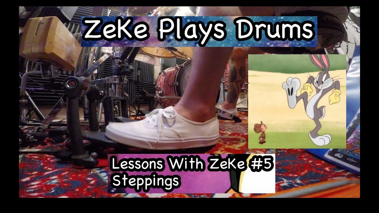 Hi-Hat Stepping's - Lessons With ZeKe #5 - ZeKe Plays Drums